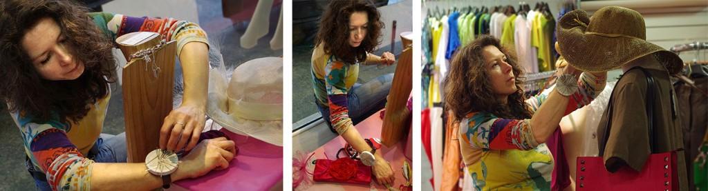C'est Déc'oh! Véronique Saubusse étalagiste décoratrice vitrines & magasins Bordeaux Gironde